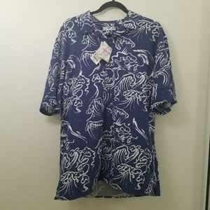 NWT Mens Uniqlo Hawaii Aloha Shirt Size Medium